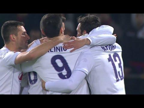 Goal Bernardeschi Cagliari-Fiorentina 1-3