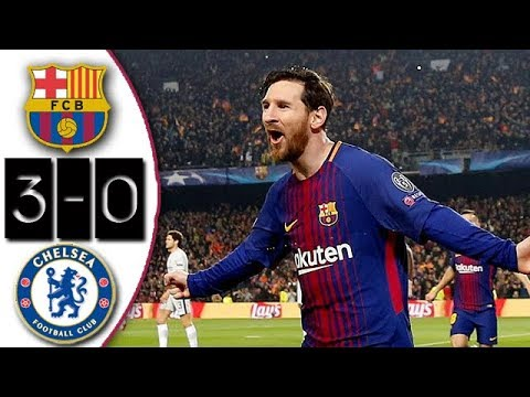 Barcelona vs Chelsea 3-0 Resumen Highlights Goles 2018