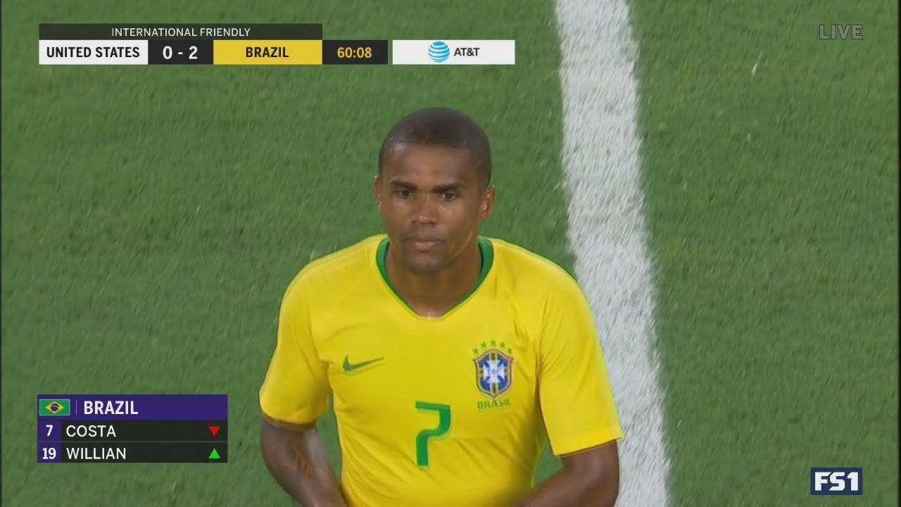 Douglas Costa vs USA (A) Friendly 08/09/2019